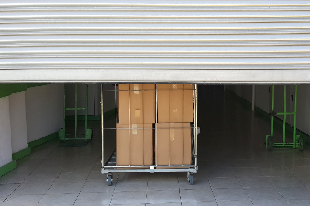 Instructions pour trouver un site de garde-meuble plus proche